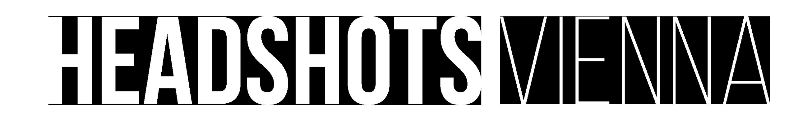 Headshots Vienna Logo weiss